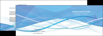 exemple depliant 2 volets  4 pages  bleu bleu pastel fond bleu pastel MLGI68942