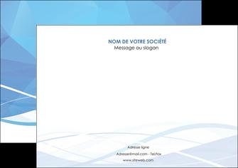 exemple affiche bleu bleu pastel fond bleu pastel MLGI68950