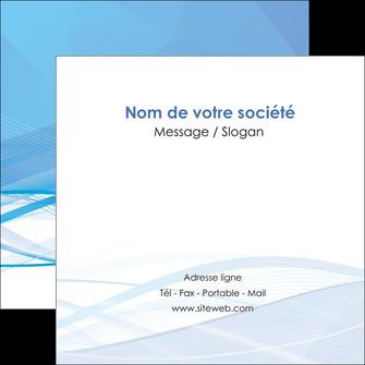 modele flyers bleu bleu pastel fond bleu pastel MLGI68960