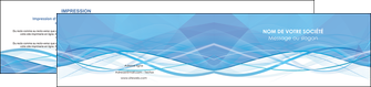 personnaliser modele de depliant 2 volets  4 pages  bleu bleu pastel fond bleu pastel MLGI68962
