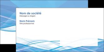 imprimerie enveloppe bleu bleu pastel fond bleu pastel MLGI68964