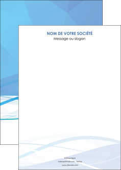 imprimer affiche bleu bleu pastel fond bleu pastel MLGI68970