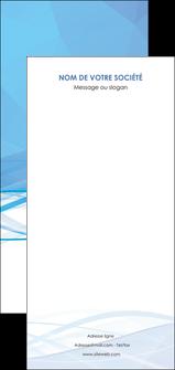 creation graphique en ligne flyers bleu bleu pastel fond bleu pastel MLGI68976