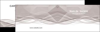 faire carte de visite gris fond gris simple MLGI69004