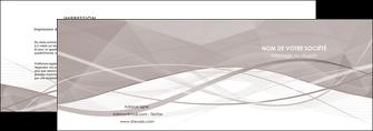 realiser depliant 2 volets  4 pages  gris fond gris simple MLGI69012