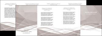 modele en ligne depliant 4 volets  8 pages  gris fond gris simple MLGI69038