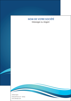 imprimerie affiche bleu bleu pastel fond bleu MIS69626