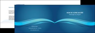 modele en ligne depliant 2 volets  4 pages  bleu bleu pastel fond bleu MIS69640