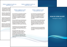 modele en ligne depliant 3 volets  6 pages  bleu bleu pastel fond bleu MIS69650