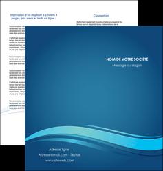 personnaliser maquette depliant 2 volets  4 pages  bleu bleu pastel fond bleu MIS69652