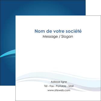personnaliser maquette flyers bleu bleu pastel fond bleu MIS69658