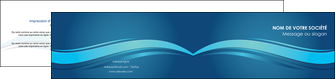 creer modele en ligne depliant 2 volets  4 pages  bleu bleu pastel fond bleu MIS69660