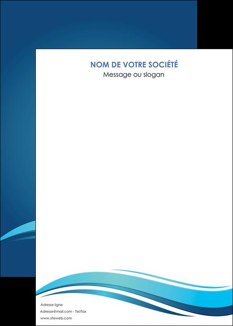 personnaliser maquette affiche bleu bleu pastel fond bleu MLGI69668
