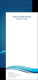 personnaliser modele de flyers bleu bleu pastel fond bleu MIS69674