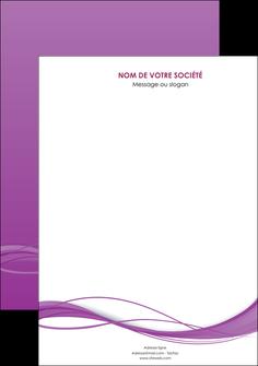 personnaliser modele de affiche web design fond violet fond colore action MIF69782