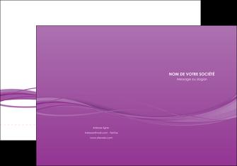 realiser pochette a rabat web design fond violet fond colore action MIF69794