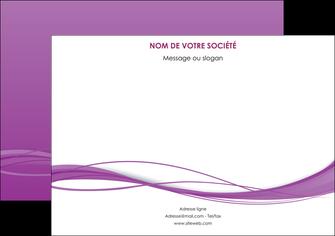 personnaliser maquette affiche web design fond violet fond colore action MIF69800