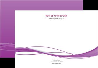 faire modele a imprimer affiche web design fond violet fond colore action MIF69802