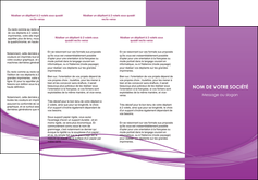exemple depliant 3 volets  6 pages  web design fond violet fond colore action MIF69806