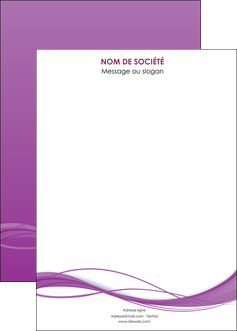 cree affiche web design fond violet fond colore action MIF69824