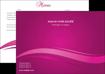 creer modele en ligne set de table violet violace fond violet MIF69832