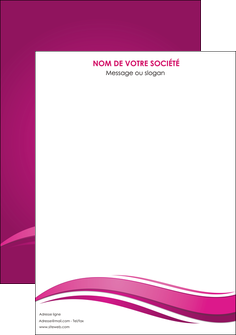 exemple affiche violet violace fond violet MIF69834