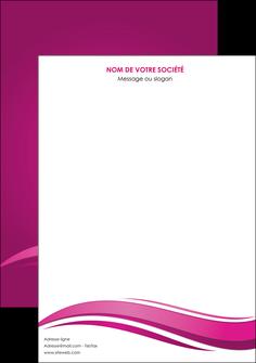 personnaliser modele de affiche violet violace fond violet MIF69836