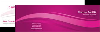 modele en ligne carte de visite violet violace fond violet MIF69840