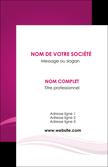 imprimerie carte de visite violet violace fond violet MLGI69842