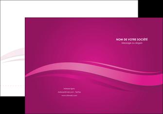 maquette en ligne a personnaliser pochette a rabat violet violace fond violet MIF69846