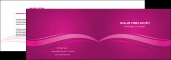 modele en ligne depliant 2 volets  4 pages  violet violace fond violet MIF69848