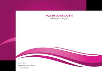 personnaliser maquette affiche violet violace fond violet MIF69850