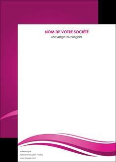 cree affiche violet violace fond violet MIF69876