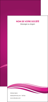 faire modele a imprimer flyers violet violace fond violet MIF69882