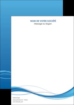creer modele en ligne affiche bleu bleu pastel fond bleu MIF70056