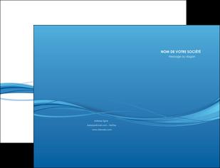 maquette en ligne a personnaliser pochette a rabat bleu bleu pastel fond bleu MIF70060
