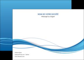 modele en ligne affiche bleu bleu pastel fond bleu MIF70068