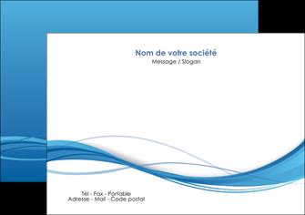 imprimerie flyers bleu bleu pastel fond bleu MIF70072