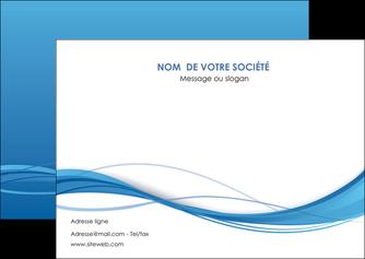 modele flyers bleu bleu pastel fond bleu MIF70076