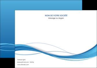 personnaliser modele de flyers bleu bleu pastel fond bleu MIF70082