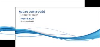 imprimer carte de correspondance bleu bleu pastel fond bleu MIF70086