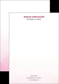 imprimer flyers rose rose tendre fond en rose MLGI70206