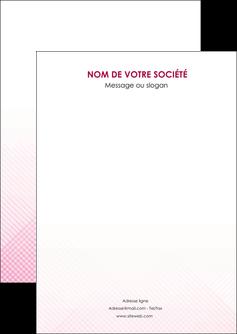personnaliser modele de flyers rose rose tendre fond en rose MLGI70208