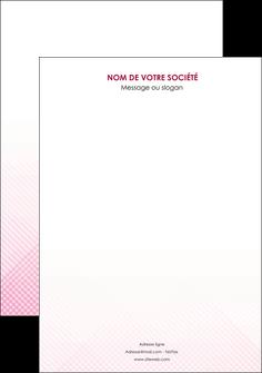 creation graphique en ligne affiche rose rose tendre fond en rose MLGI70212