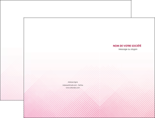 creation graphique en ligne pochette a rabat rose rose tendre fond en rose MLGI70216