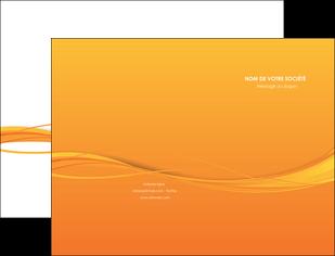 modele en ligne pochette a rabat orange couleur couleurs MIF70390