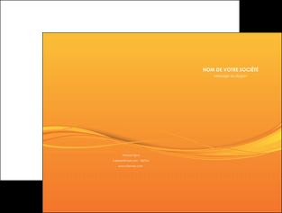 faire pochette a rabat orange couleur couleurs MIF70392