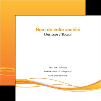 imprimer flyers orange couleur couleurs MIF70410