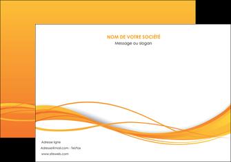 imprimerie flyers orange couleur couleurs MIF70412