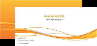 personnaliser modele de flyers orange couleur couleurs MIF70414